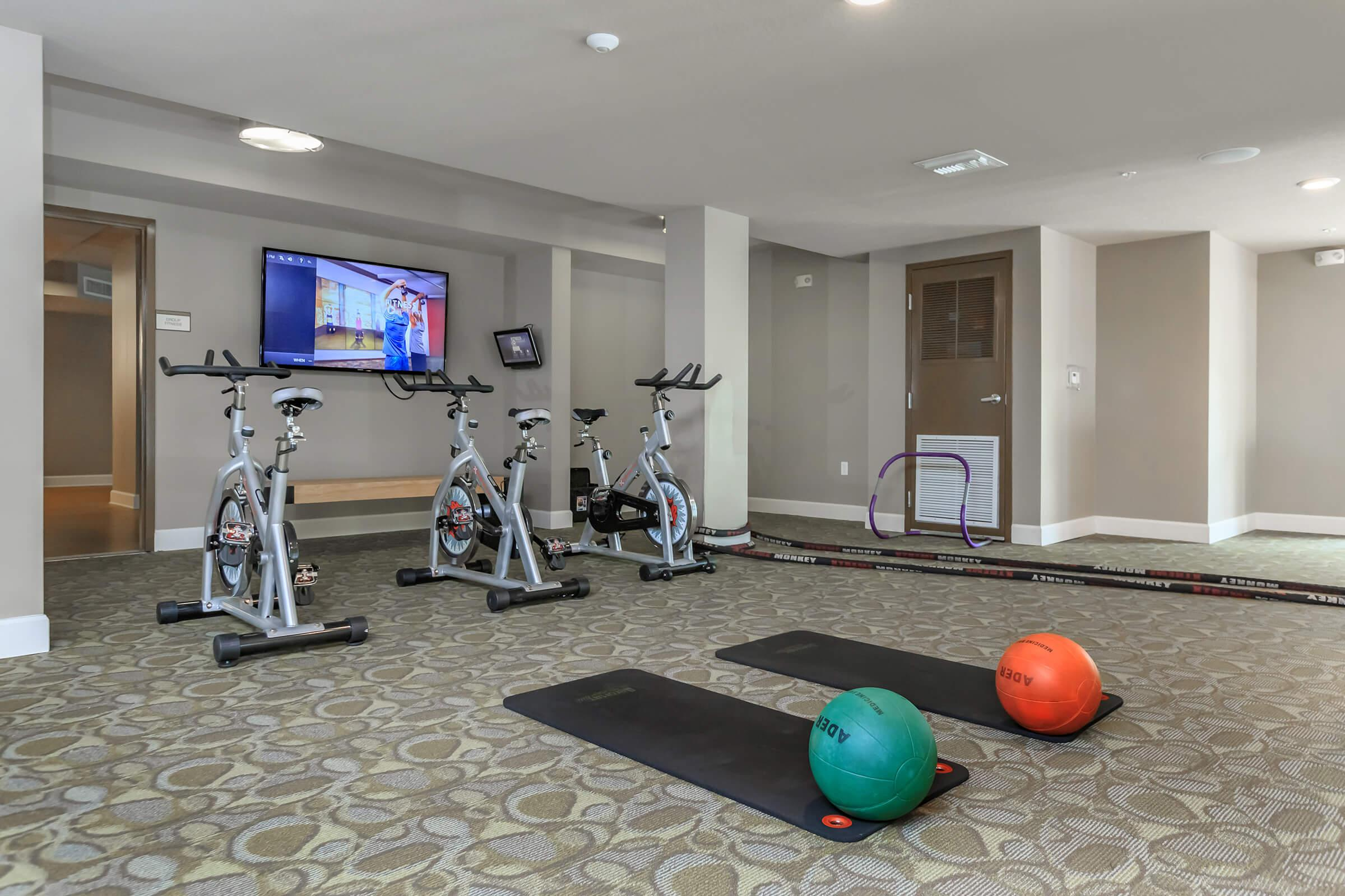 Fitness Center at The Allure Apartments in Jupiter, FL
