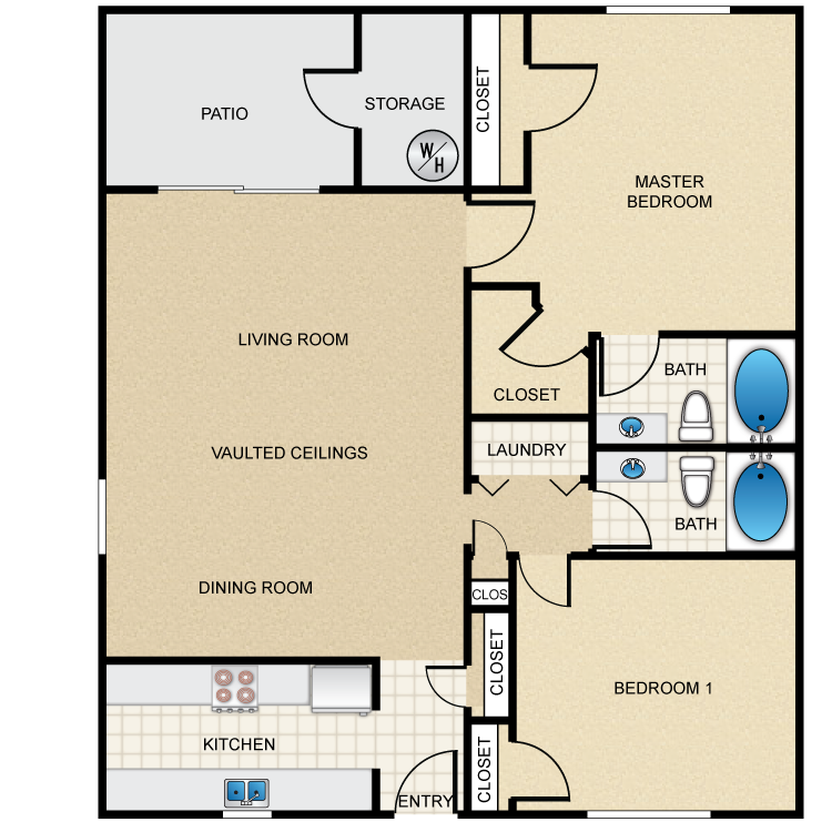Floor plan image of Small Villa
