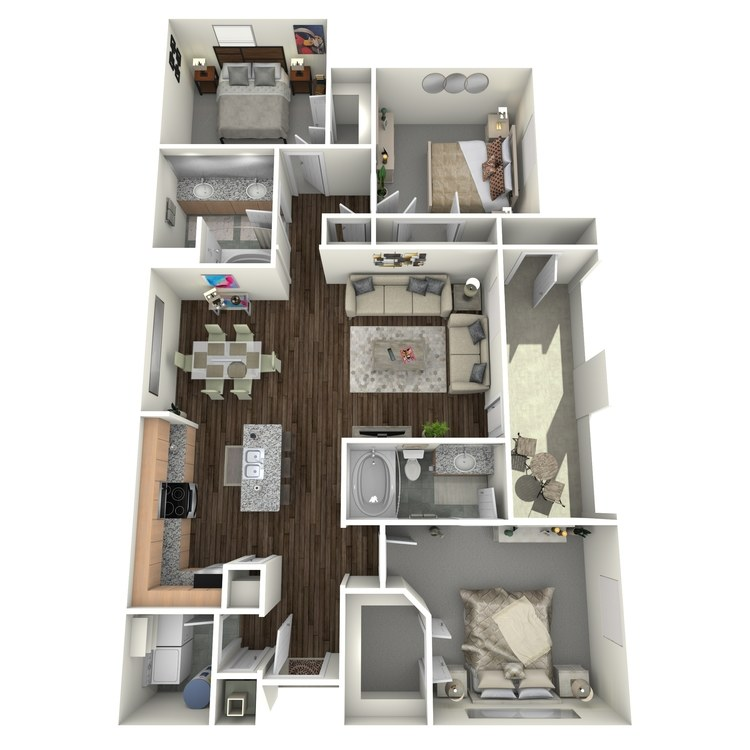 Floor plan image of HC1