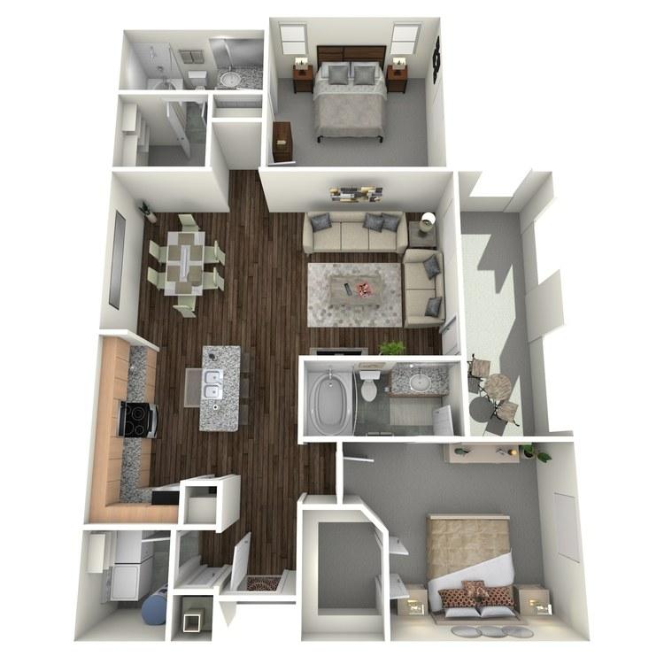 Floor plan image of B3.2