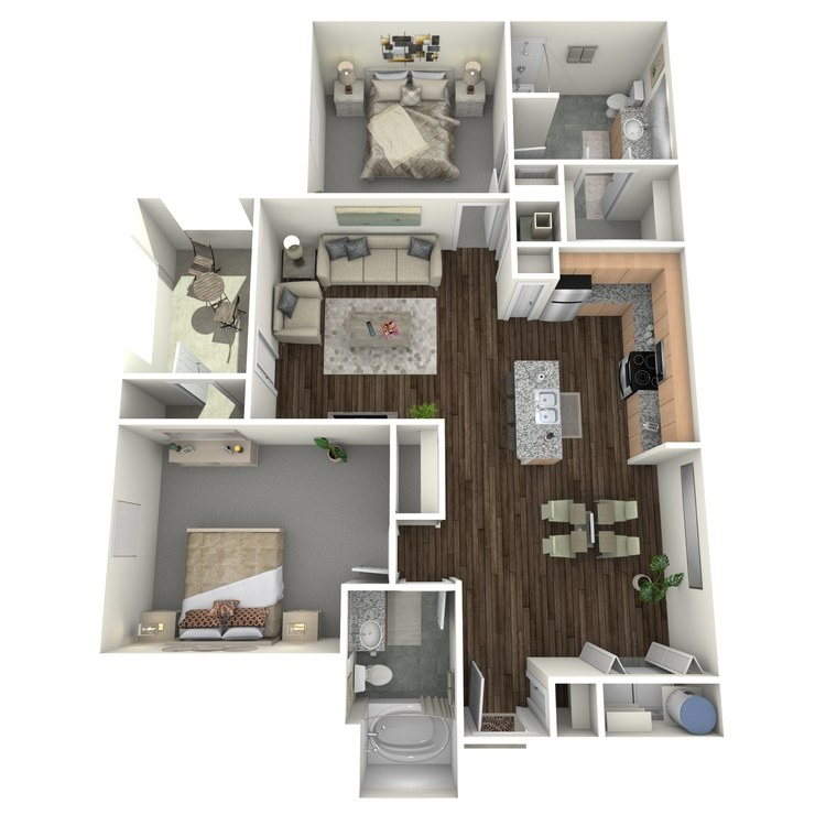 Floor plan image of HB2