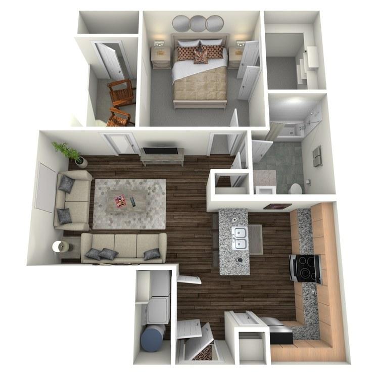 Floor plan image of HA1