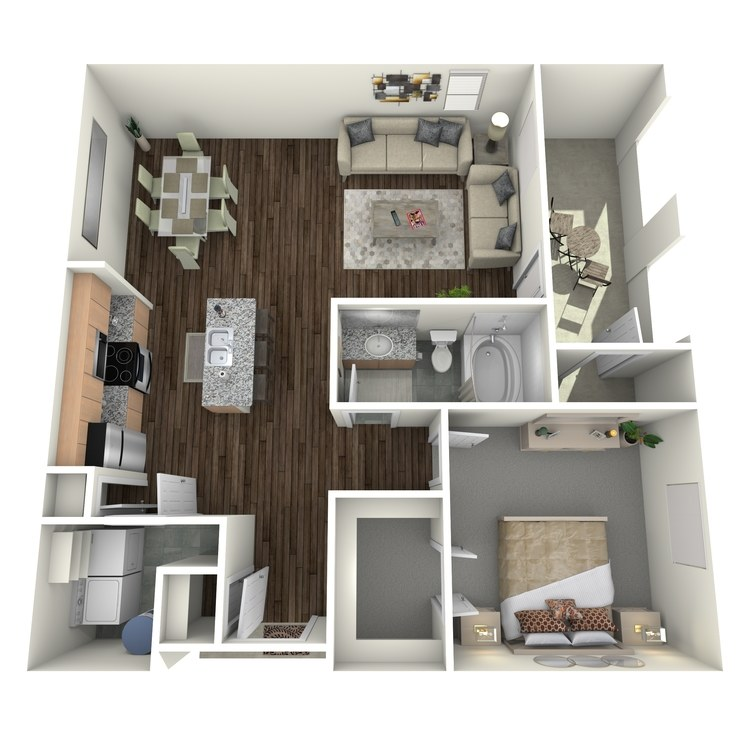 Floor plan image of A3.2