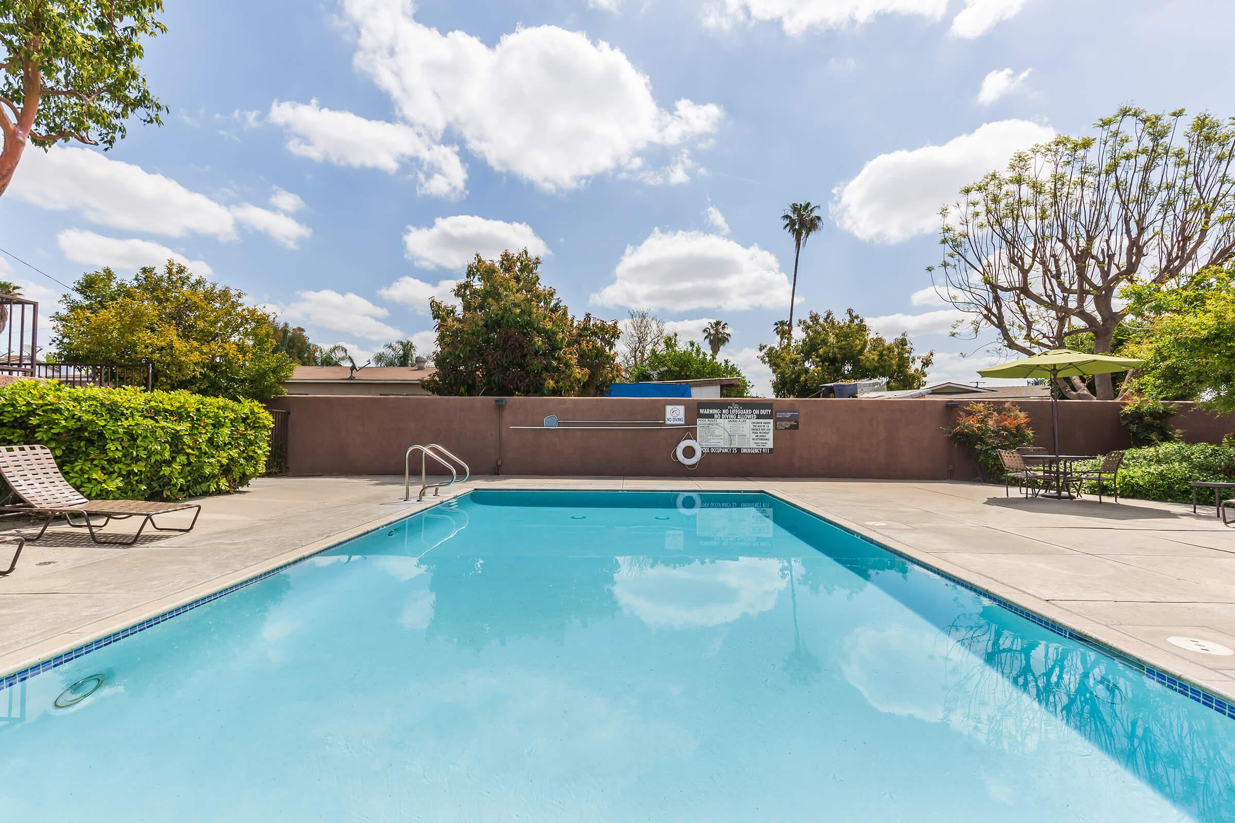 Casa Pacifica Apartment Homes community pool