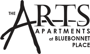 The Arts Apartments at Bluebonnet Place Logo