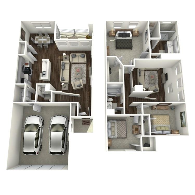 C2 floor plan image