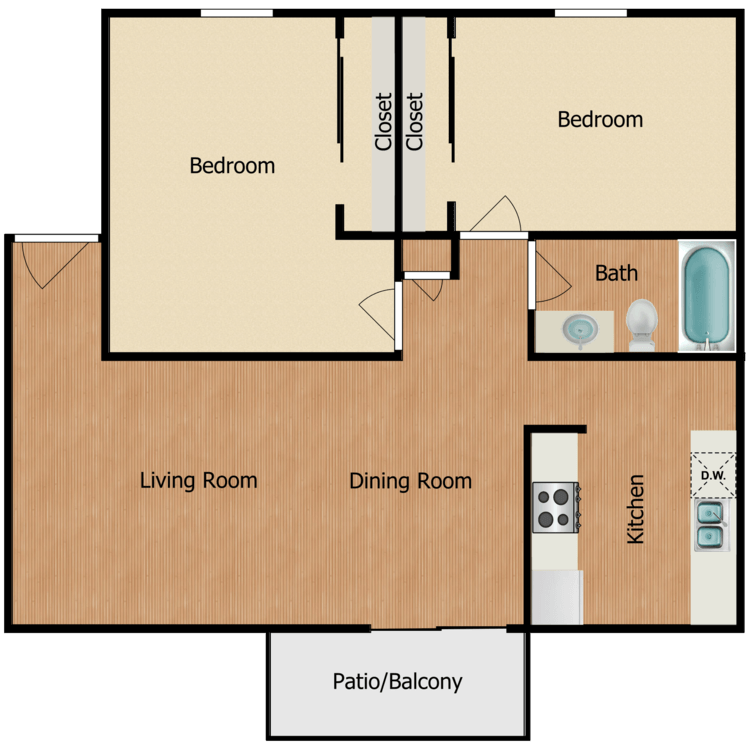 Floor plan image of The Birch