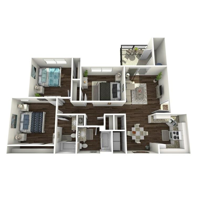 Floor plan image of C Market