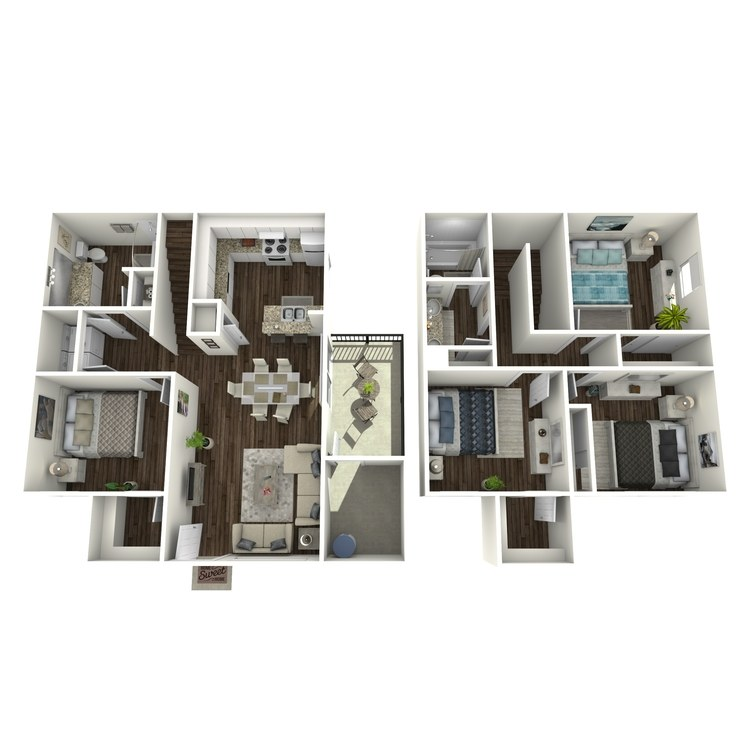 Floor plan image of D Market