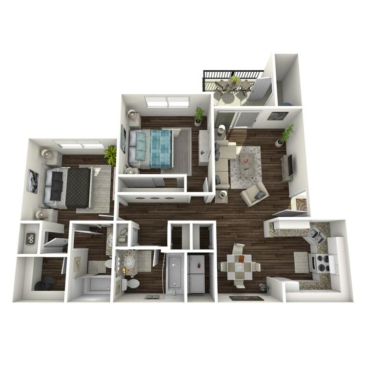 Floor plan image of B Market