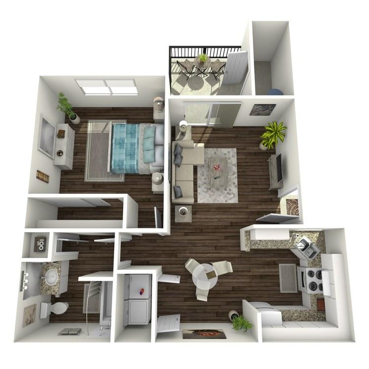 Floor plan image of A Market