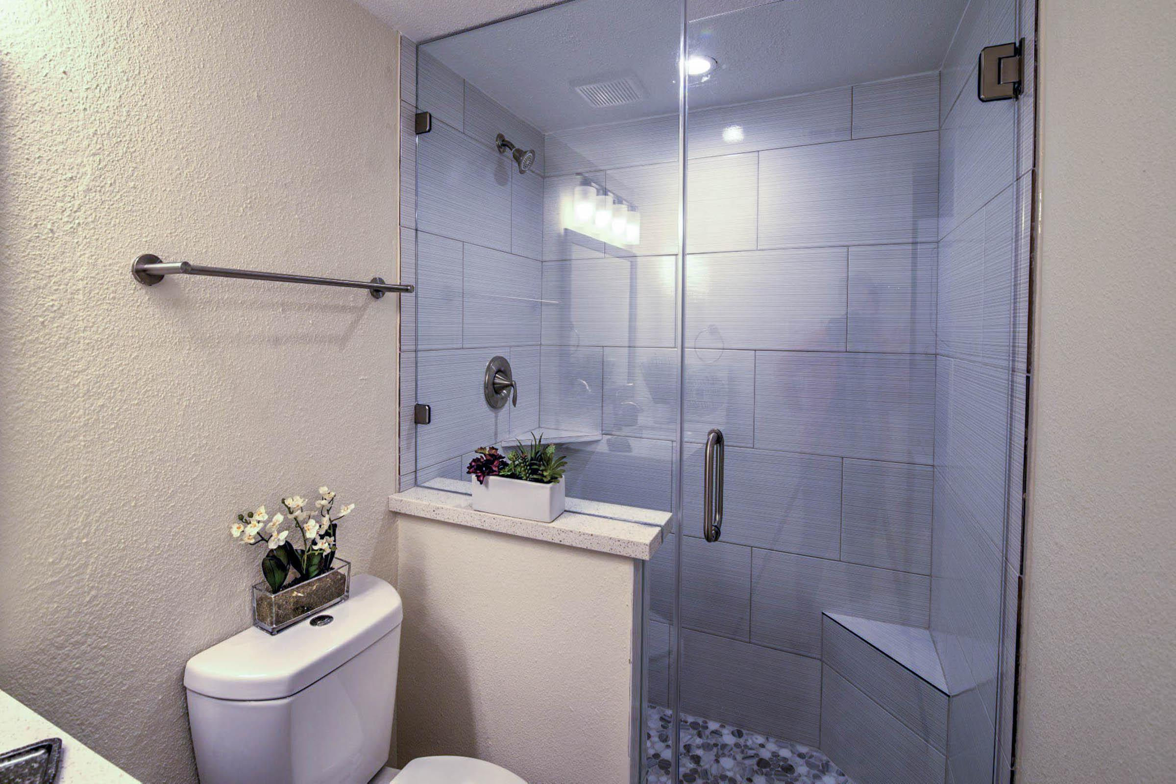 Stand Up Glass shower