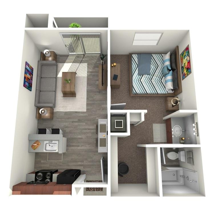 Floor plan image of Mahogany