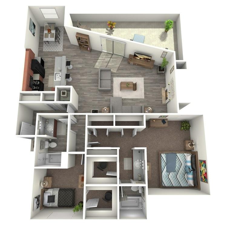Floor plan image of Sequioa
