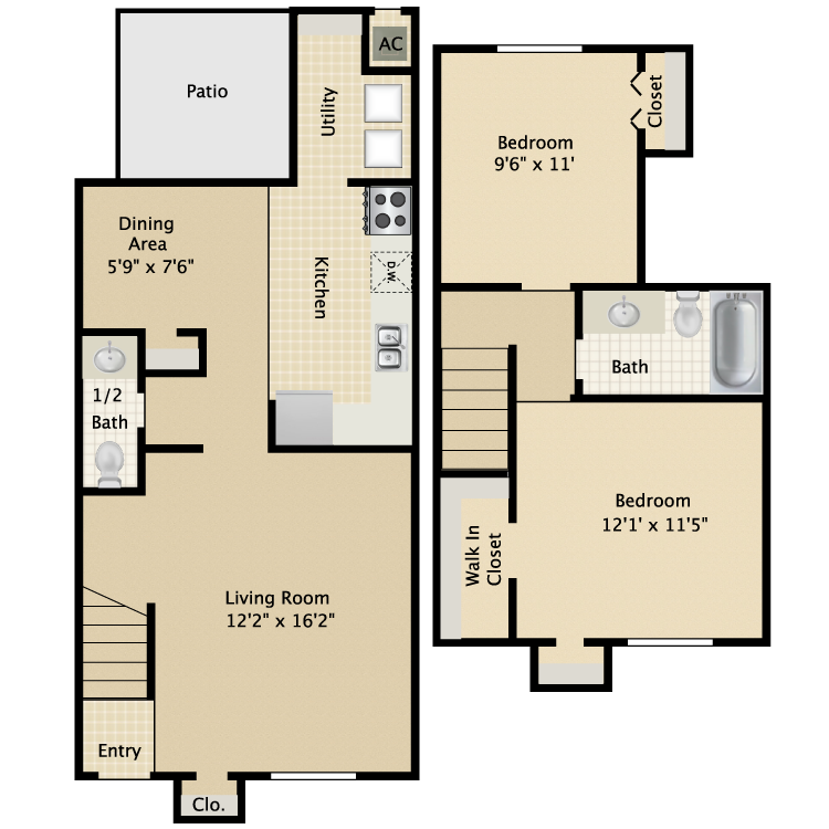 Floor plan image of Palm