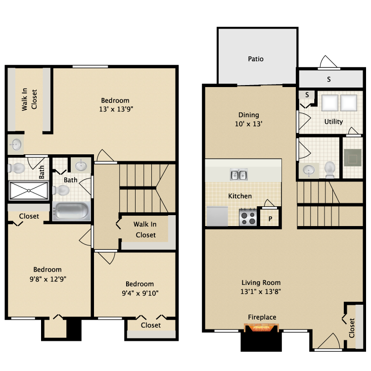 Floor plan image of Redwood