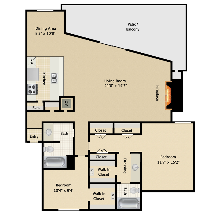 Floor plan image of Sequioa