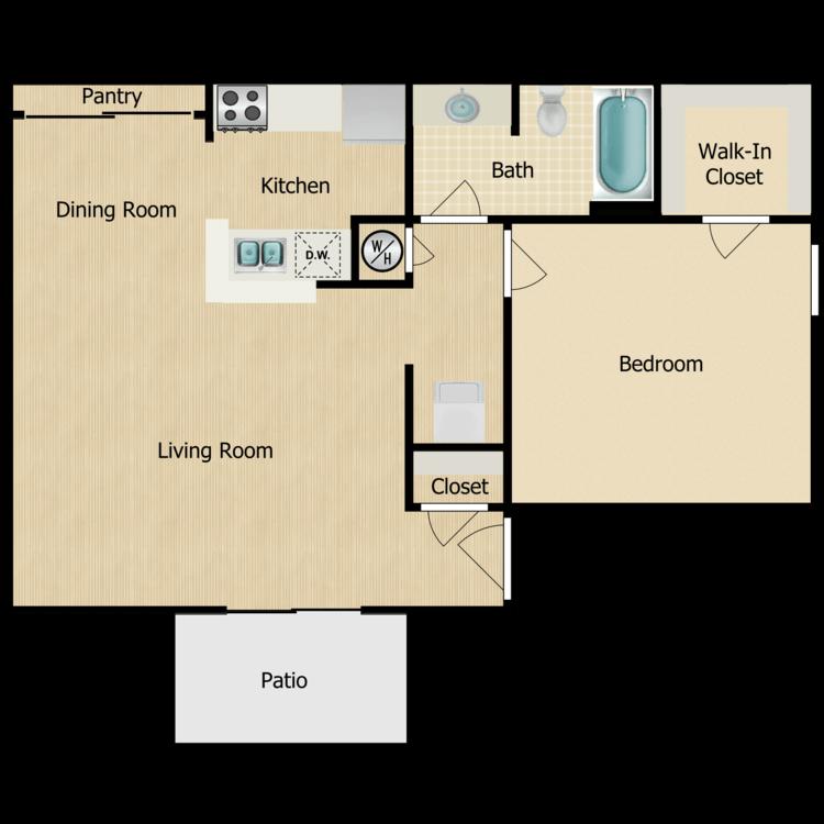 The Palms floor plan image