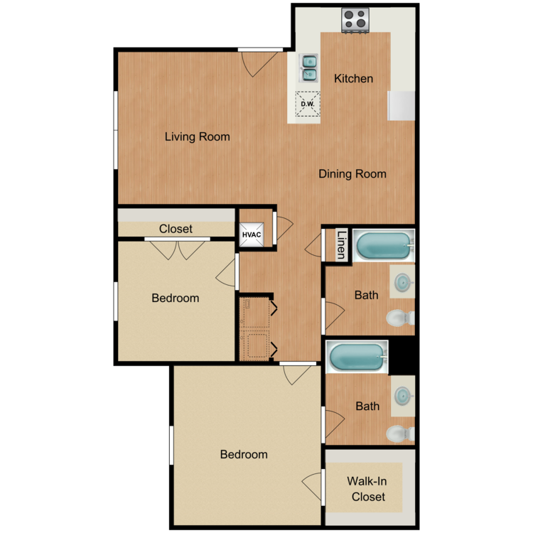 Iris floor plan image