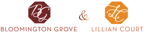 Bloomington Grove & Lillian Court Logo