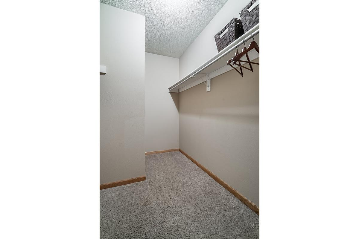 Interiors- Large walk-in closet for storage at Oakwood Trail Apartments in Omaha Nebraska.jpg