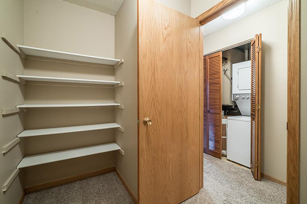 Interiors- Lots of storage space at Oakwood Trail Apartments in Omaha Nebraska.jpg