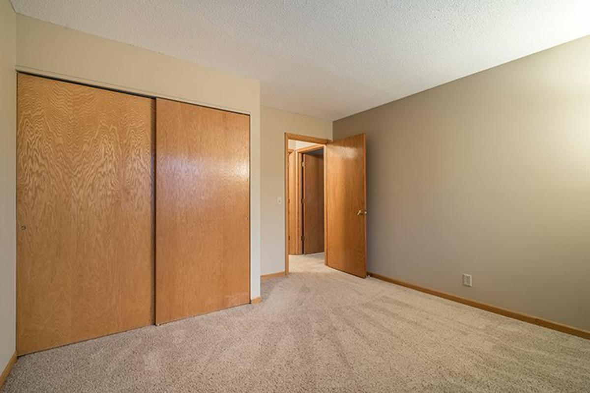 Interiors- Lots of storage space inside the bedrooms at Oakwood Trail Apartments in Omaha Nebraska.jpg