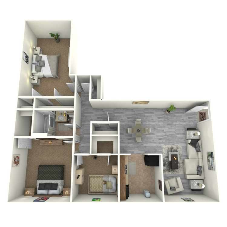 Floor plan image of 3 Bedroom