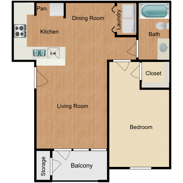 Floor plan image of Austin