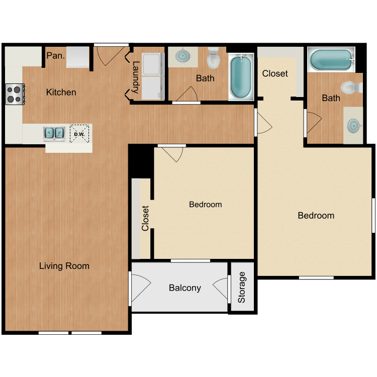 Floor plan image of Dallas