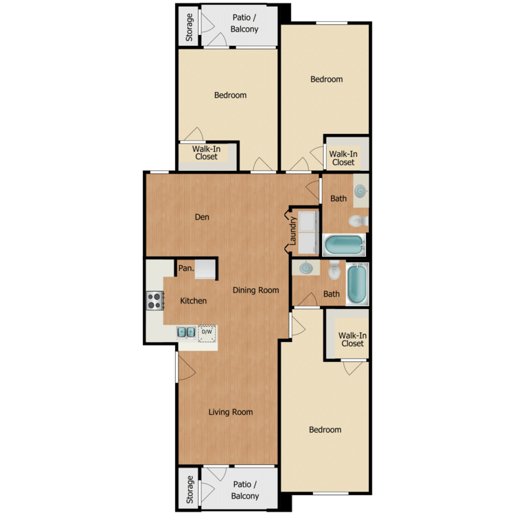 Floor plan image of Galveston