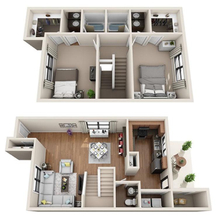 Floor plan image of Astor