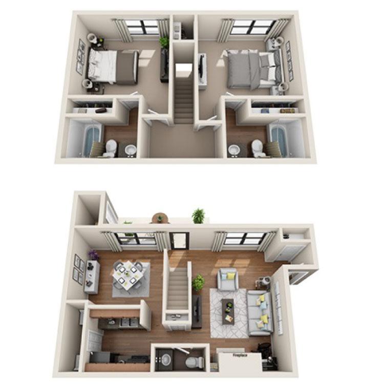 Floor plan image of Carlton