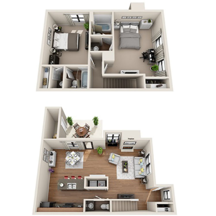 Floor plan image of Exeter