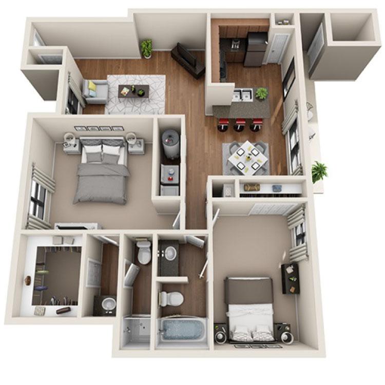 Floor plan image of Omni