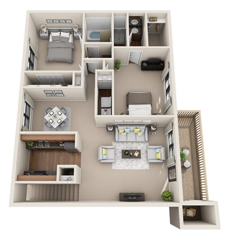 Floor plan image of Owen