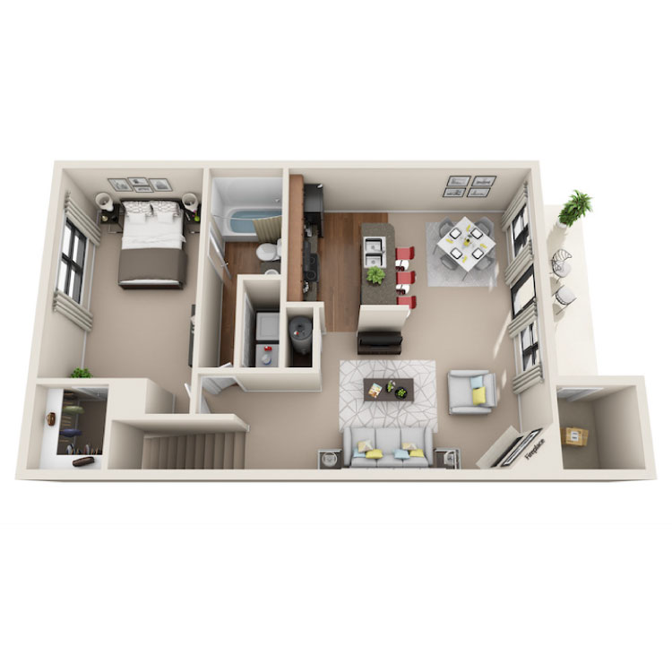Floor plan image of Sloan Francis