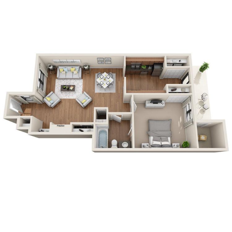 Floor plan image of Sloan Franklin