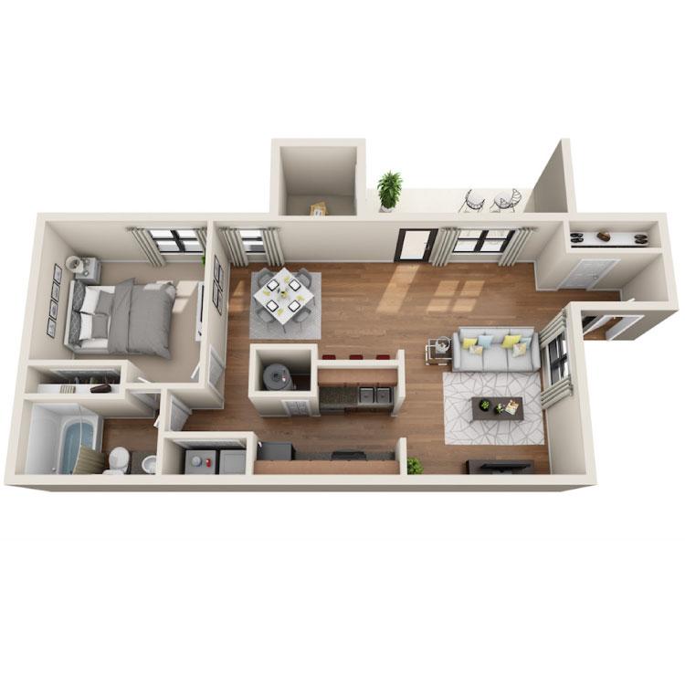 Floor plan image of Sloan Wood