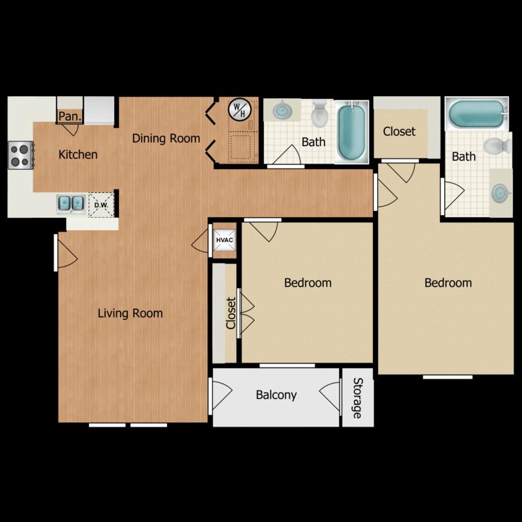 Floor plan image of Desoto