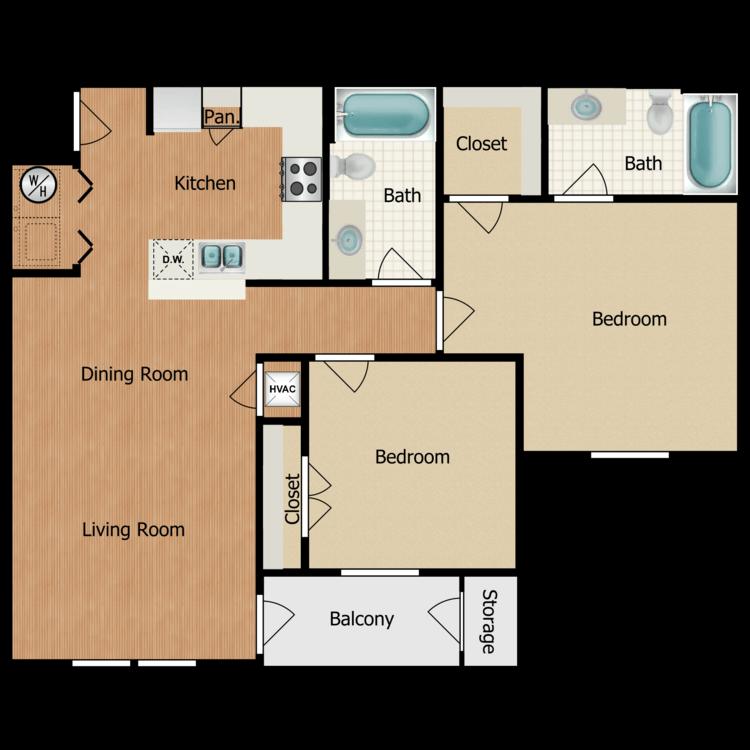 Floor plan image of Franklin