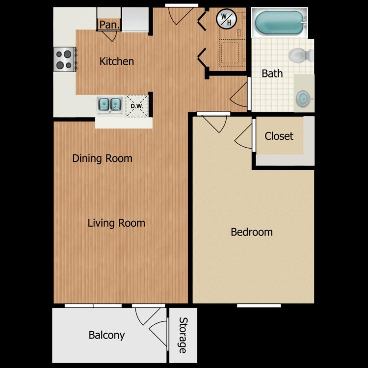 Floor plan image of Chandler