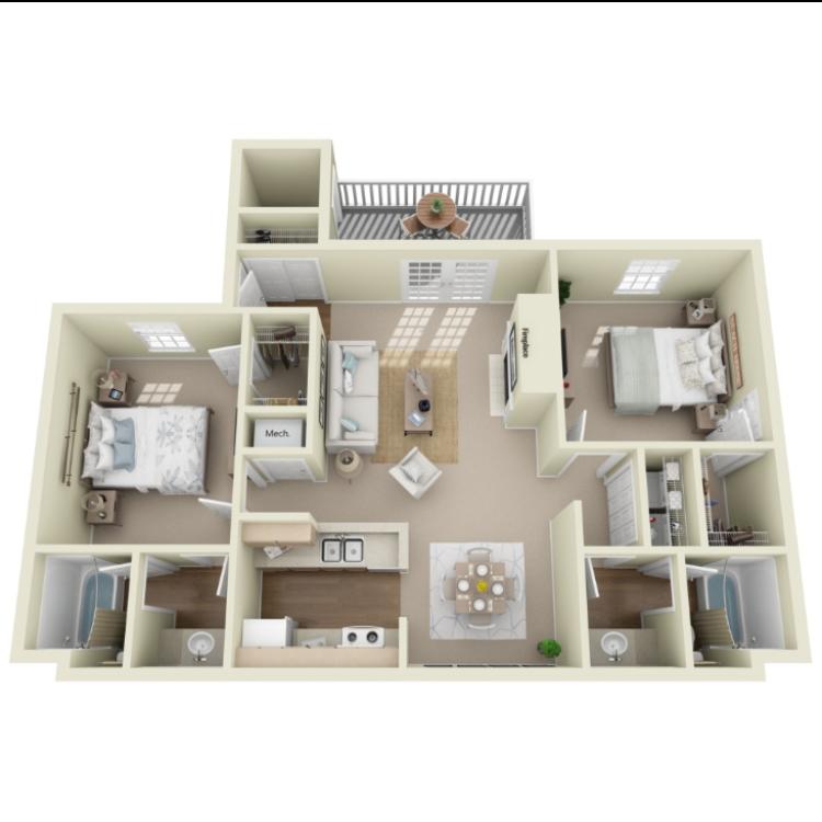 Floor plan image of Winthrop