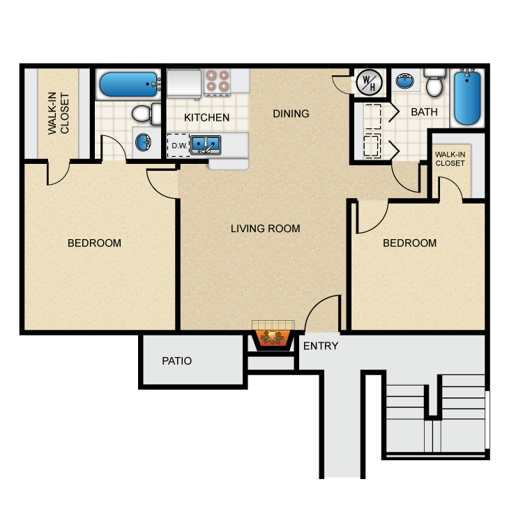 C floor plan image