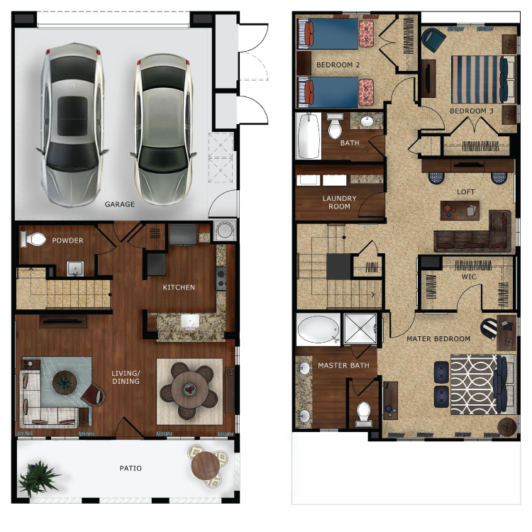 Plan 3 floor plan image