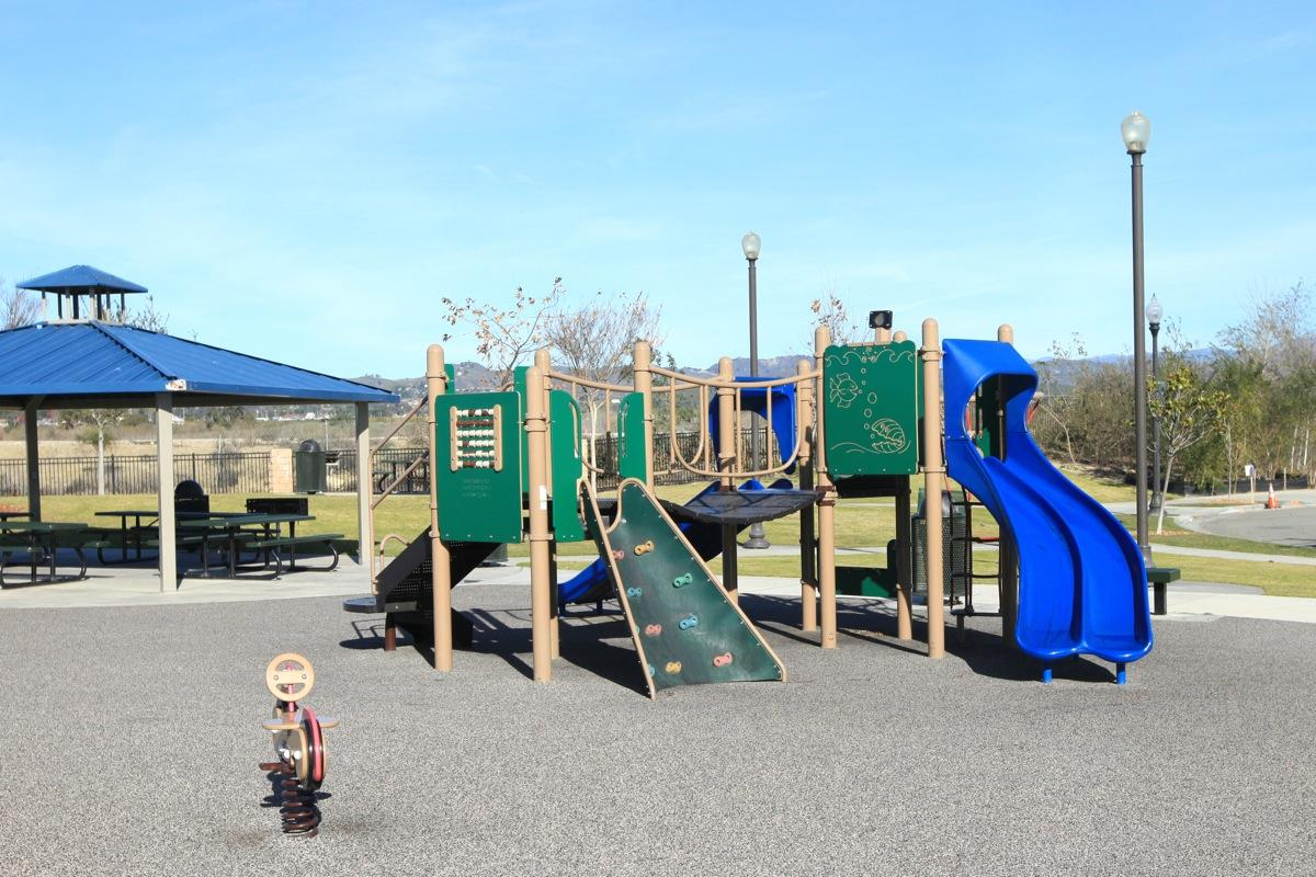 Play area with Gazebo and picnic area