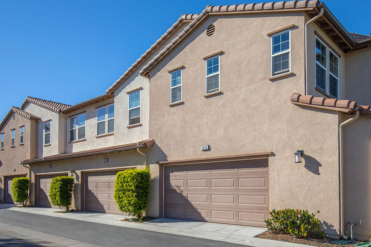 Townhomes with attached 2 car garages