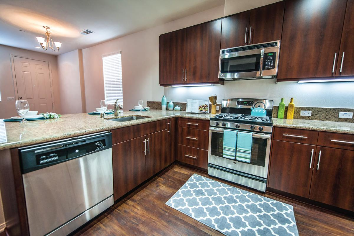 Energy Star Stainless Appliances and granite countertops
