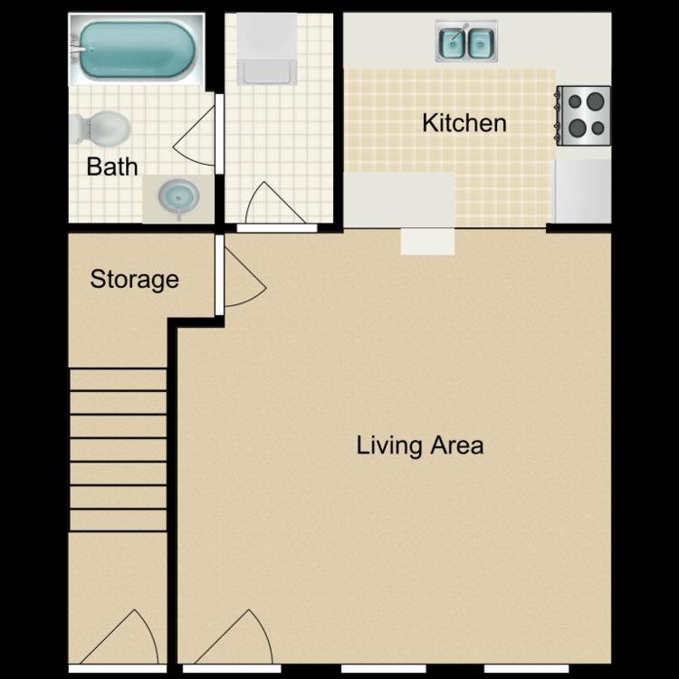 Floor plan image of MicroSuite