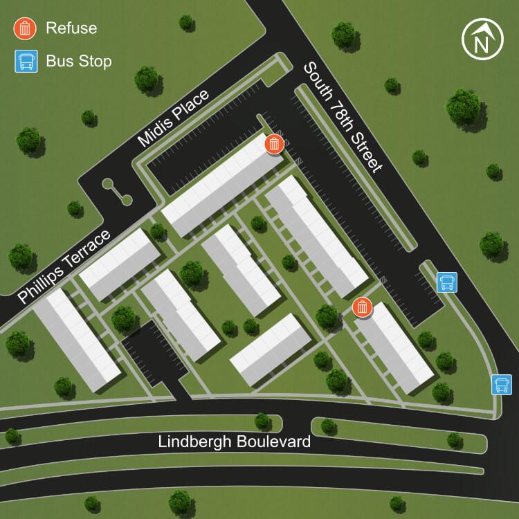 Site Map Mews Left